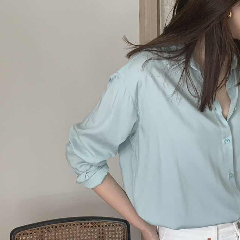 Silky shirts [4colors]