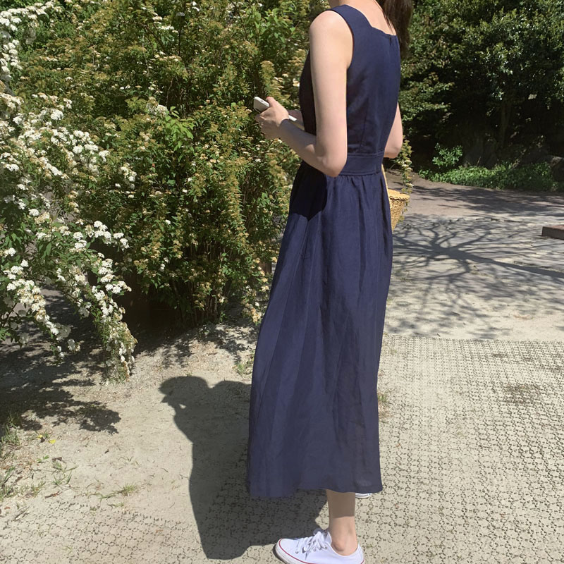 June dress [navy]