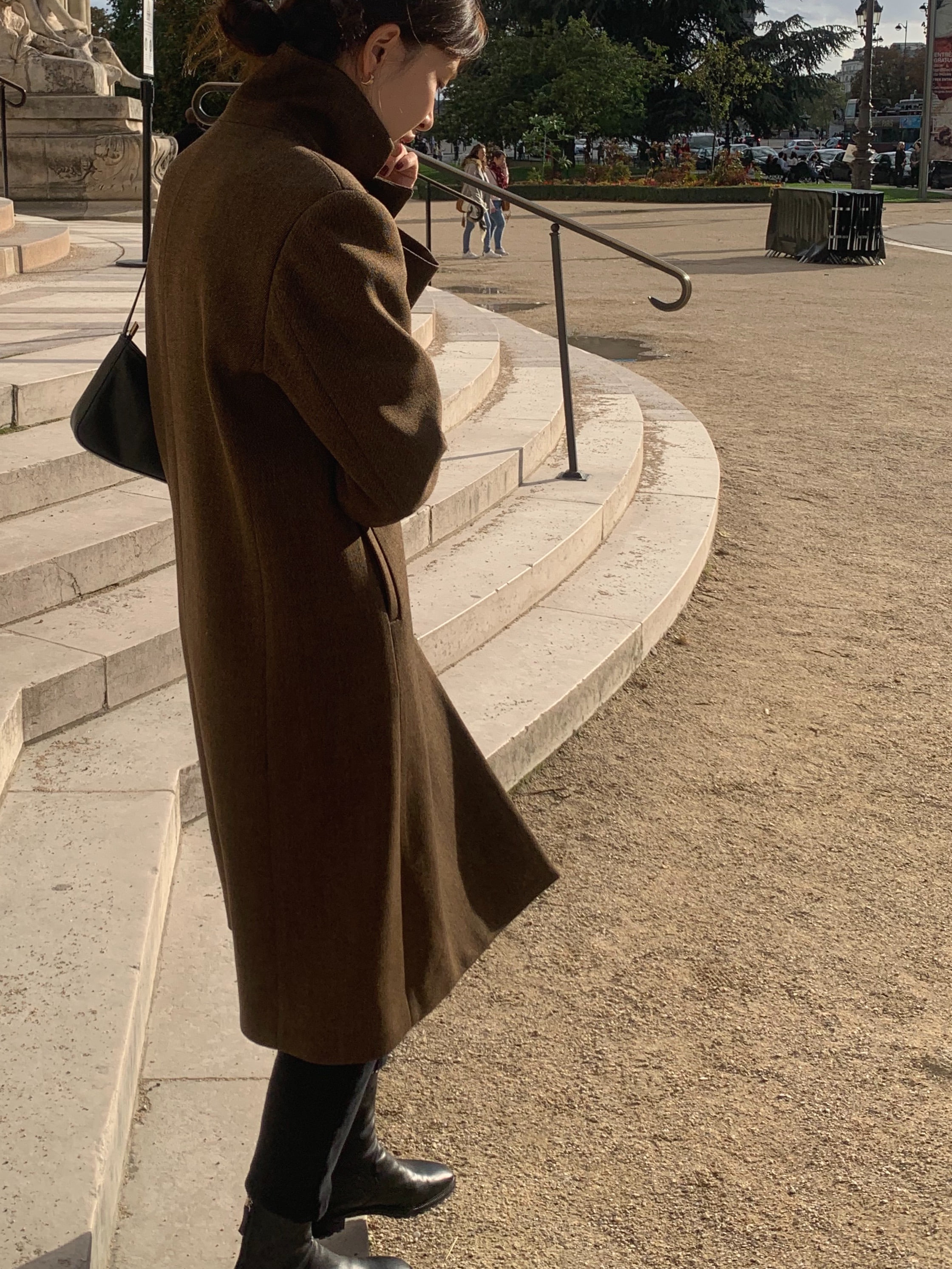 Musee coat [fabric by ITALY]